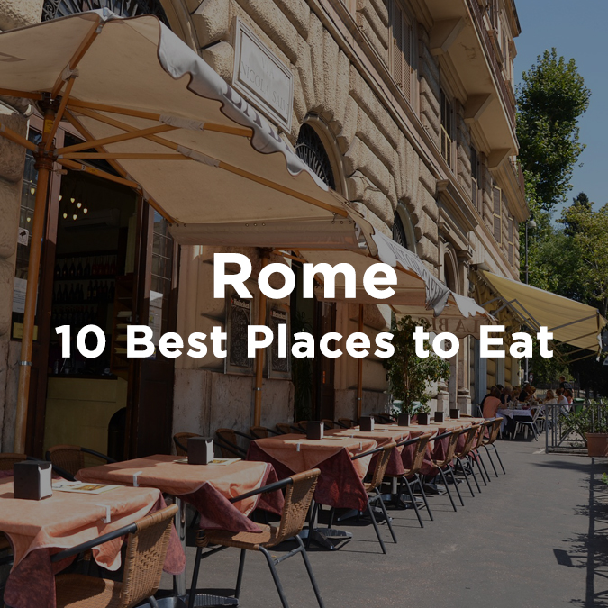 10 best places to eat in Rome