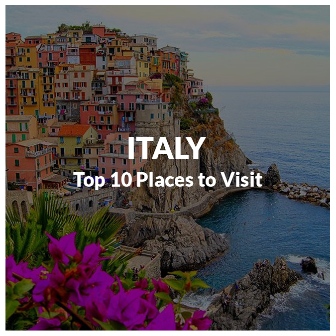 Why italy top 10 places to visit in italy this summer 2017 Top 10 best vacation places