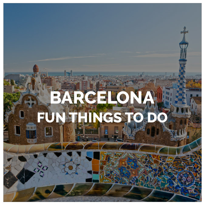 Fun things to Do in Barcelona