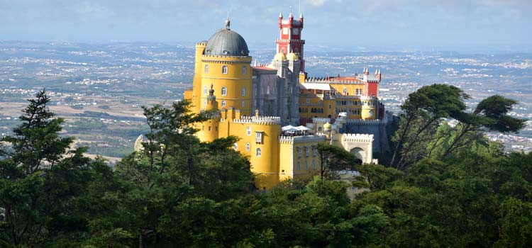 The Pena Palace in Sintra - The Best Cities to Visit in Portugal