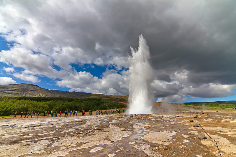 Strokkur Geyser - The Best Places to Visit in Iceland