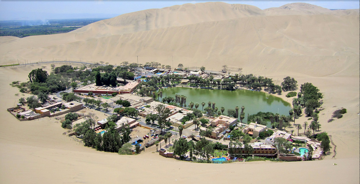 The Desert Oasis of Huacachina