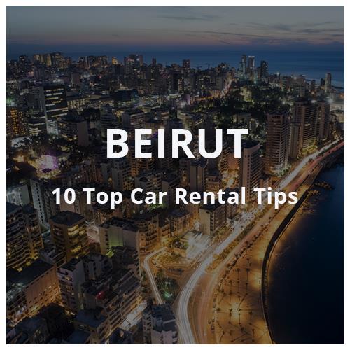 car rental in Beirut